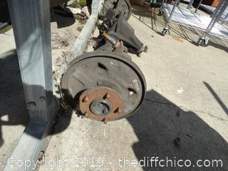 10 Bolt Chevy Axel Differential