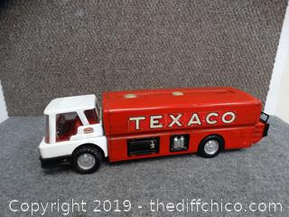 Vintage 1960 Metal Jet Fuel Texaco Truck