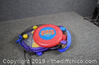 Backpack Full of Outdoor Games