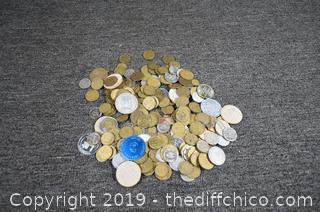 Mixed Lot of Tokens