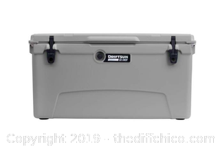 SALE Driftsun 110 Quart Performance Ice Chest - Insulated Rotomolded Cooler - GRAY (J2)