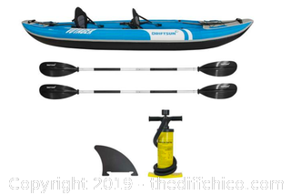 Driftsun Voyager 2 Person Inflatable Kayak (J7)