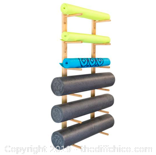 Ultra Fitness Gear OM Foam Roller & Yoga Mat Rack (J15)