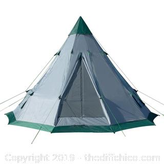WINTERIAL TEEPEE TENT: 6-7 PERSON TENT (J22)