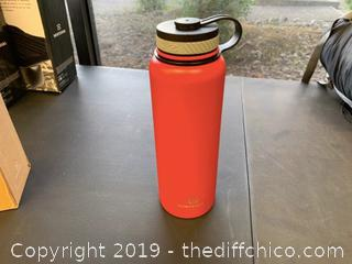 WINTERIAL 40OZ STAINLESS STEEL WATER BOTTLE - RED (J25)