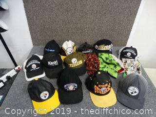 Steeler Hats & other Hats