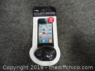 Acoustic Speaker for I-PHONE 4/4S