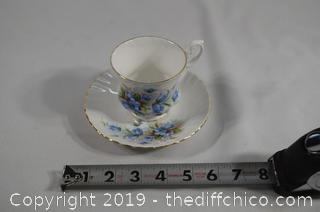 Collectible Cup and Saucer