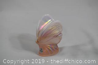 Fenton Glass Butterfly-no chips or cracks