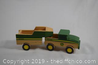 John Deere Truck and Trailer