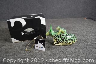 Cow Parade Mother Frog Collectible