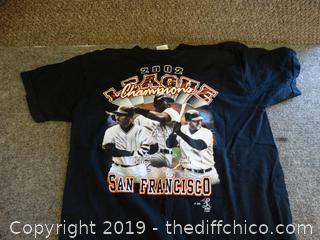 SF Giants T-SHIRT  L
