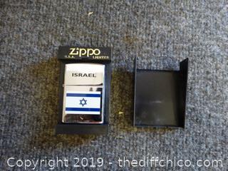 Israel Zippo Lighter
