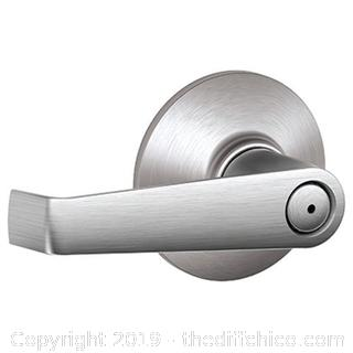 Schlage F40ELA626 Elan Privacy Lever, Satin Chrome - Qty 4 (J13)
