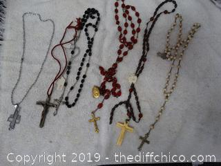 Mixed Cross Necklaces