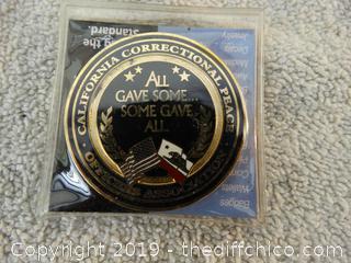 Officer Association Coin