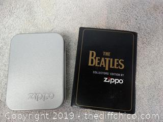 Beatles Collectors Edition  Zippo NIB