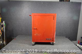 Rolling Metal Cabinet