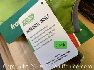 Ultra Light Waterproof Dog Jacket - Medium - Green (J20)