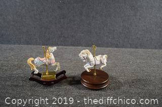 2 Musical Rocking Horse