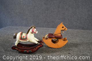 2 Rocking Horse