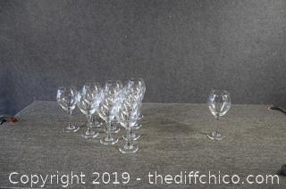11 Wine Goblets