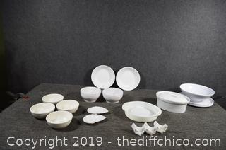 23 Pieces of Replacement Dishes