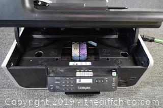 Lexmark Printer - Powers Up