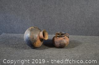 2 Pieces of Pottery