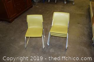 4 Children Chairs