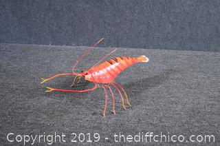 Metal Table Decoration - Lobster