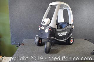 Little Tyke Police Toy Car