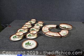 20 Pieces of Brock of CA FarmHouse Pottery
