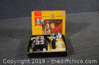 Kodak Brownie Reflex 20 Outfit Camera