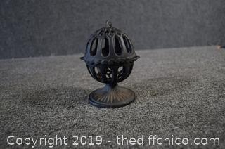 Cast Iron Candle Holder Patio Lantern