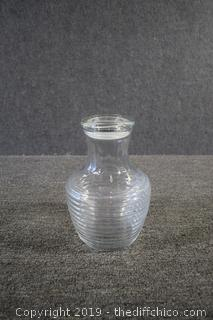 Glass Jar w/Lid