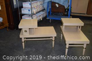 Pair of Vintage End Tables
