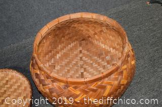 Basket w/Lid
