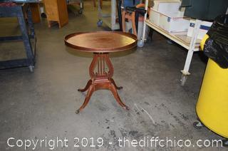 Mahogany Occasional Table