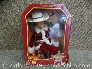 NIB Woody Toy Story Christmas Doll
