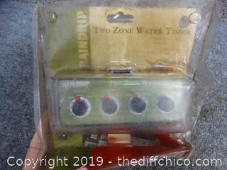 NIB Two Zone Water Timer