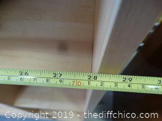 Multipurpose Wood  Shelf