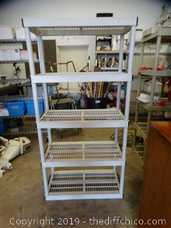 Plastic Shelf (see pics)