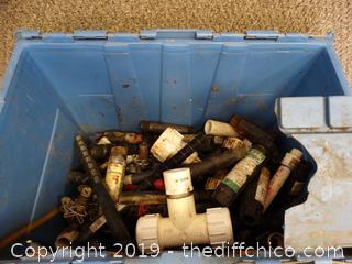 Tub of Plumbing