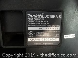 Makita 18 Volt Charger wks