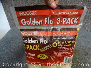 Golden Flo 3 Pack NIB