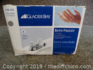 NIB Glacier Bay Bathroom Faucet
