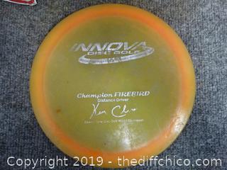 Signed Innova Disc Golf