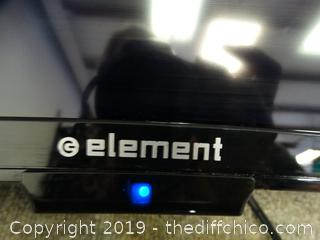 "Element 39"" TV powers on"