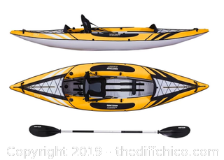 Driftsun Almanor 110 Single Person Inflatable Recreational Touring Kayak (J4)